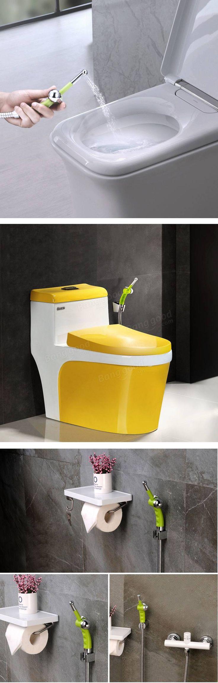 kcasa hand held bidet shower kitchen bathroom hygeian faucet toilet seat cleaning bidet sprayer