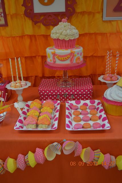 Cupcakes Birthday Party Ideas