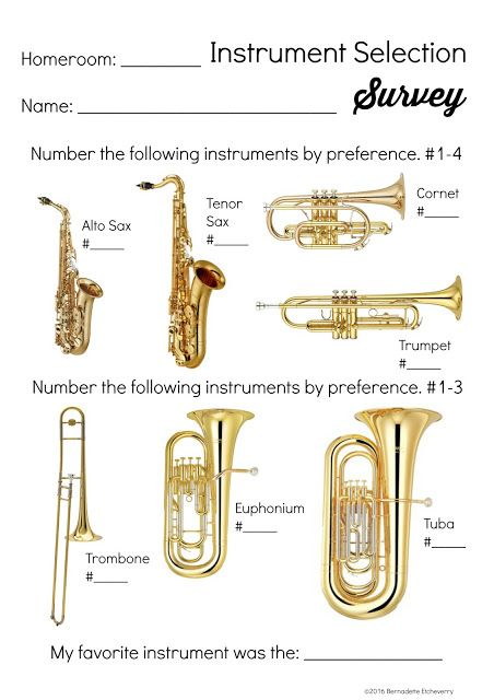 How to Choose the Right Instrument in Beginning Band