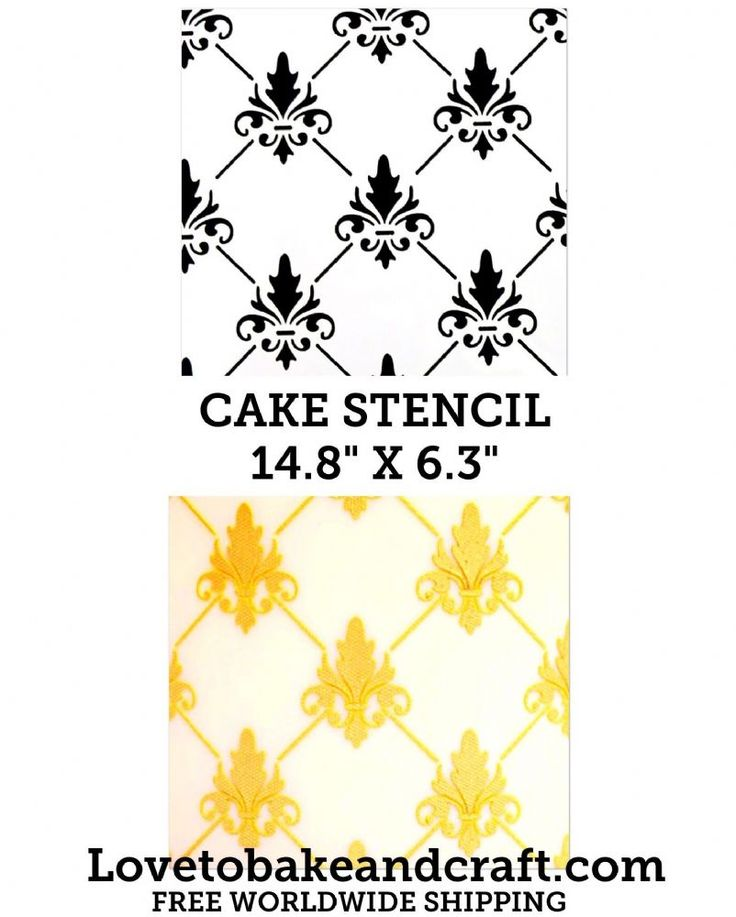 Cake Pattern Stencils : 25+ best ideas about Cake stencil on Pinterest Fondant ...