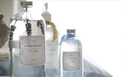 Homemade Linen Sprays Combine vodka, distilled water and fragrant oils to make