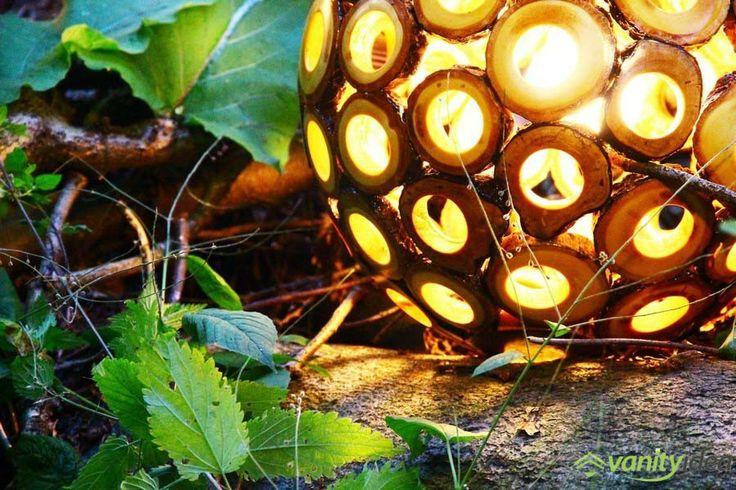 Eden wooden lamp