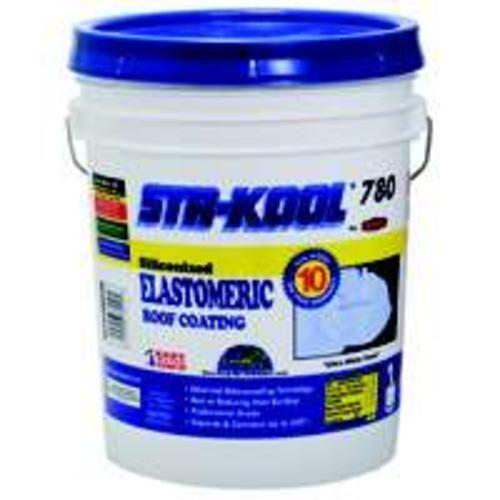 Sta-Kool SK-7805 Elastomeri Roof Coating, White, UL classified, 5 Gallon