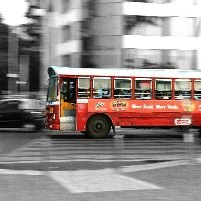 . The Best of Mumbai!  . . Photo Courtesy: @ramu.ka.ka  #ig_india #gf_india #indianphotographers #india_clicks #indiapictures #indiainclicks #photographers_of_india #mumbai #delhi #chennai #kolkata #bangalore #hyderabad #indiagram #igersindia #indiame #unique_india #uniqueindia #bus #redbus #panning #bestbus