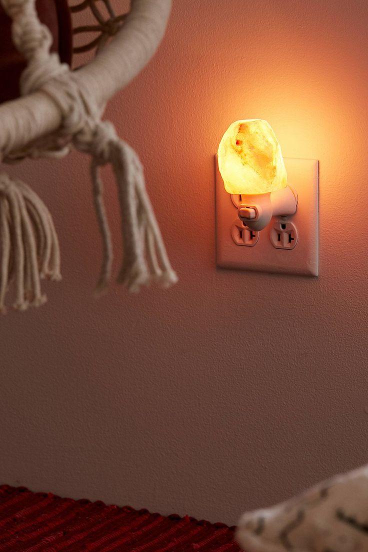 Himalayan Salt Lamp Night Light | Urban Outfitters