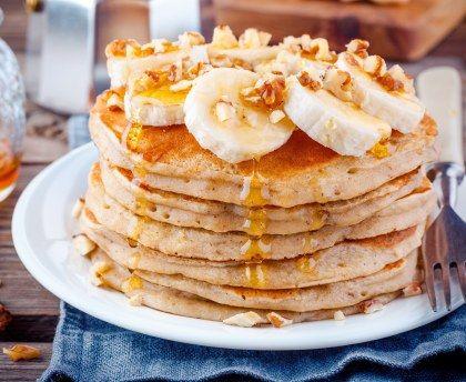 Pancakes rapides au micro-ondes : Recette de Pancakes rapides au micro-ondes - Marmiton
