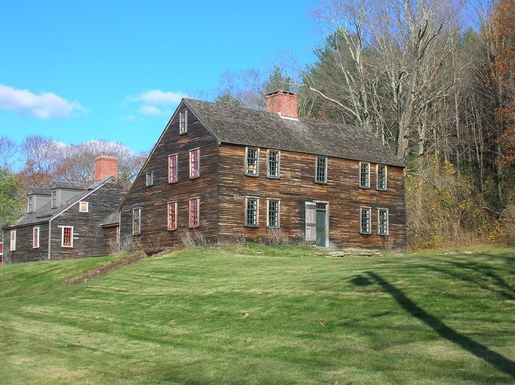 Historic New England Farmhouse Plans Fachwerk