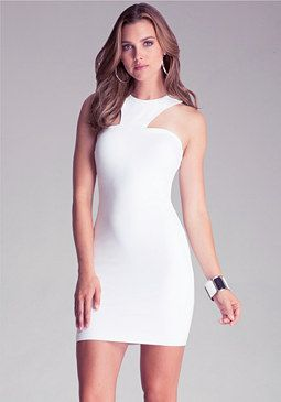 Racerneck Dress at bebe