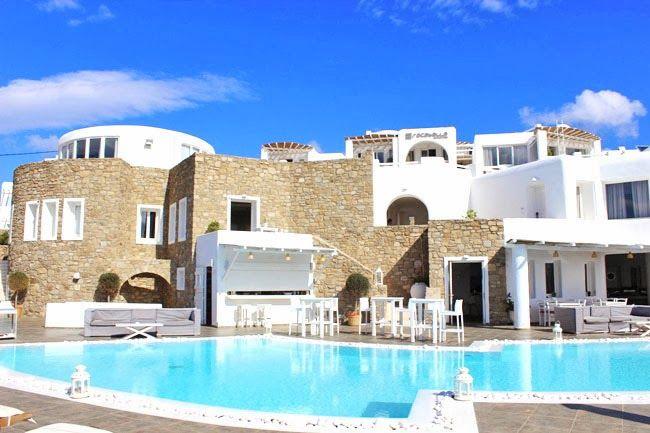 Rocabella Mykonos Art Hotel U0026 SPA :: Pool | Luxury Hotel Pools, Modern Hotel  Design, Mykonos Hotels, Luxury Travel