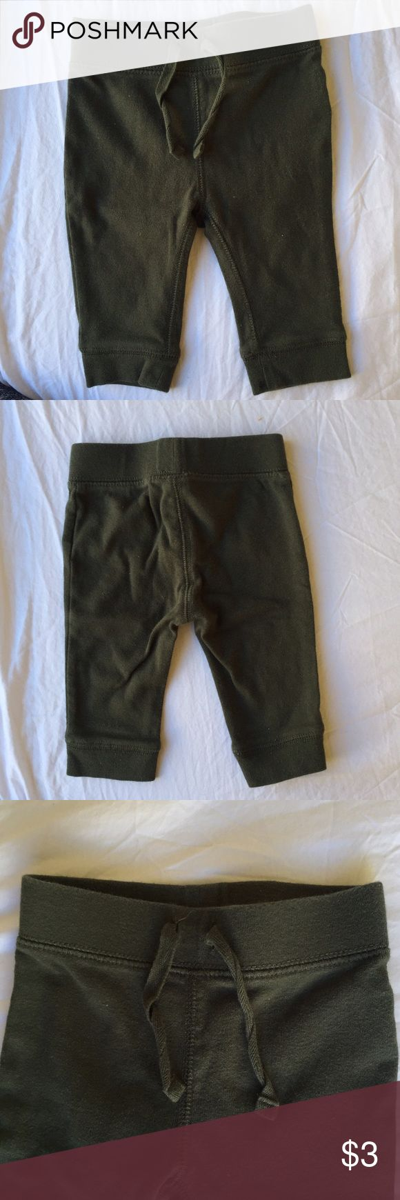 Deep Olive Green Baby Joggers These are extremely cute, I really wish my baby would still fit in these! Old Navy Bottoms Sweatpants & Joggers