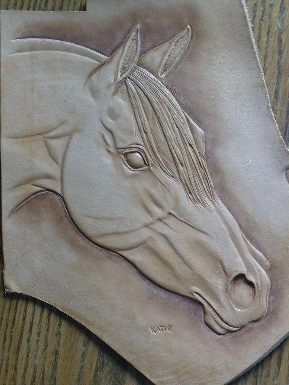 Carving Horses - Kathy the Yak Lady