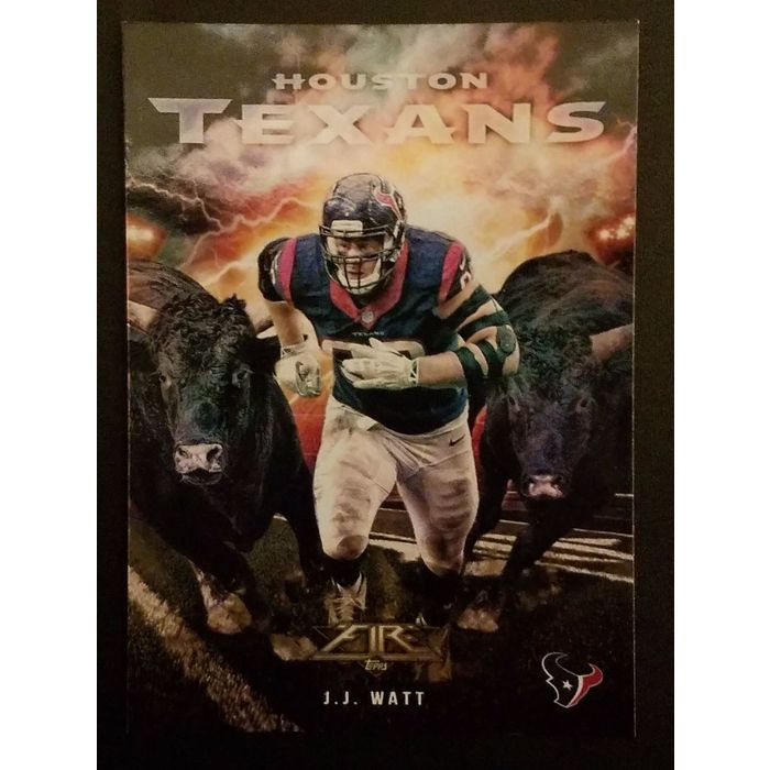 2015 Topps Fire into the Wild #ITW-JJ Watt Houston Texans Listing in the Other,NFL,Football (American) Cards,Sports Trading Cards,Sport Memorabilia & Cards Category on eBid United States | 151639802