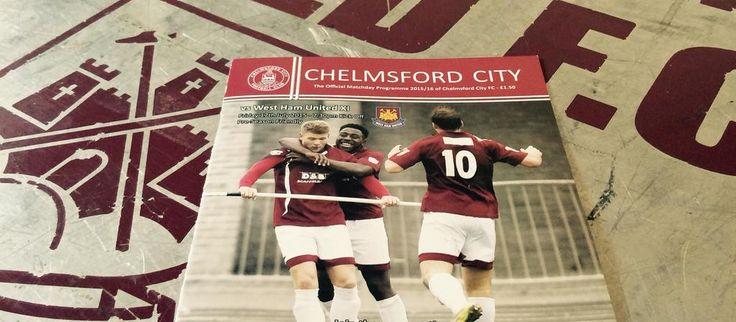 Chelmsford City vs West_Ham - Pre-season friendly