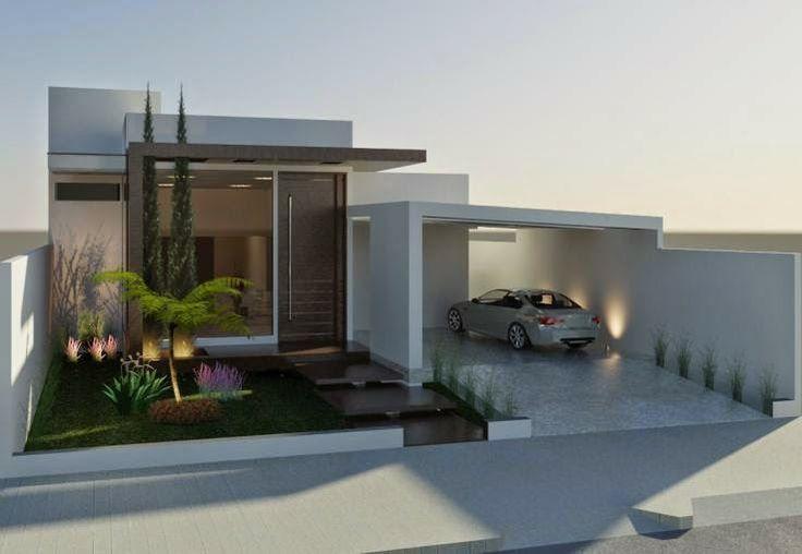 Fachadas de casas bonitas: modernas, de dos pisos, simples y minimalistas (imágenes) – Información imágenes