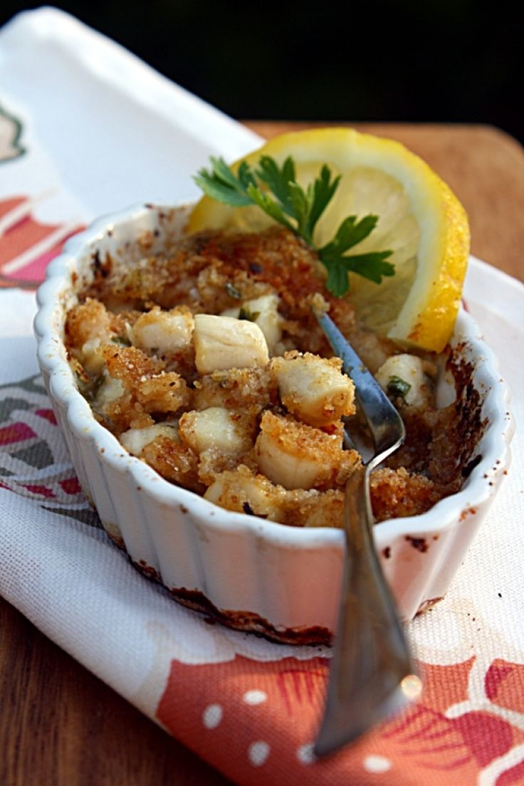recipe: baked scallops florentine [30]