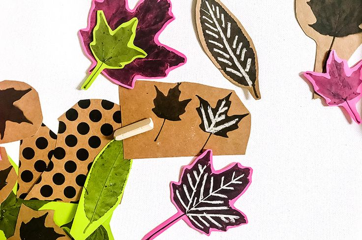 This fall leaf art craft is the perfect combination of fun and learning for kids