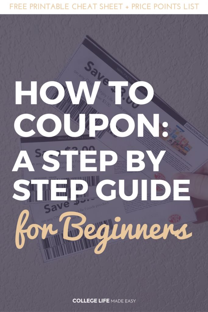 How to Coupon for Beginners | Couponing in College | At Walmart, at Target, at Rite Aid, at Walgreens, at CVS | Couponing for Beginners | How to Coupon Tutorials | How to Get Free Stuff | Ways to Get Free Stuff | Step by Step Couponing Guide | Learing to Coupon | Money Saving Ideas | Save on Groceries via @esycollegelife