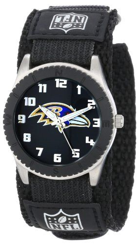 Game Time Mid-Size NFL-ROB-BAL Rookie Baltimore Ravens Rookie Black Series Watch | Your #1 Source for Watches and Accessories