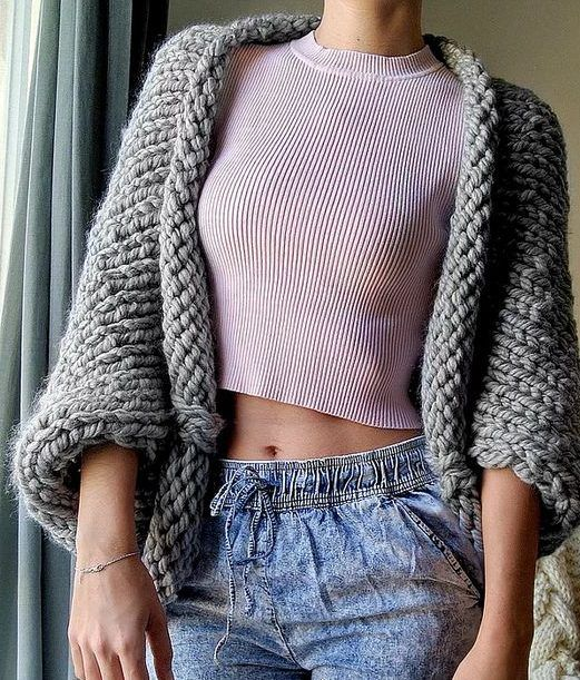 Crop Top Knitting Pattern Free : Best need yarn must knit images on pinterest color