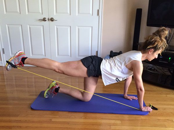 No squat no lunge butt workout