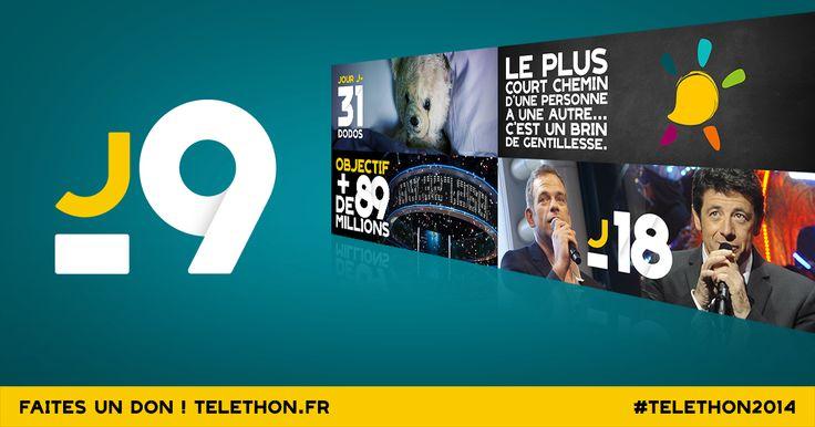 [Facbook] Dernière ligne droite avant le jour J: revivez l'actu de novembre vue par le #TELETHON2014 http://www.pinterest.com/DigitasLBiAFM/afm-telethon-live/