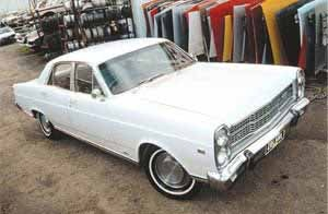 My Nanna drove one of these - Ford Fairlane ZC-ZD