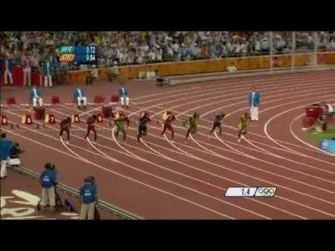 Phelps vs Bolt: Who's Better?   Usain Bolt World Record - Mens 100m Final - Beijing 2008 Olympic Games