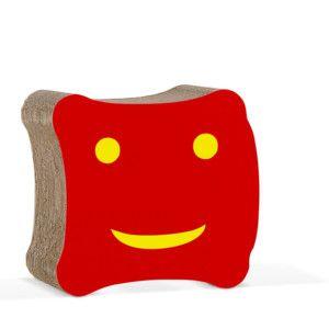Dětská kartonová židle Biscotto Red
