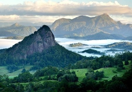 Mt Warning area in New South Wales - Australia - photo Getty Images