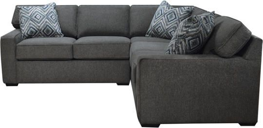 Diamond 2 Piece Right-Arm Facing Corner Sofa Sectional ...