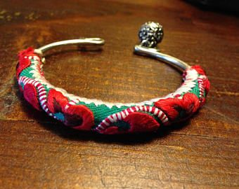 Tibetan jewelry 'Miao silver handmade bracelet