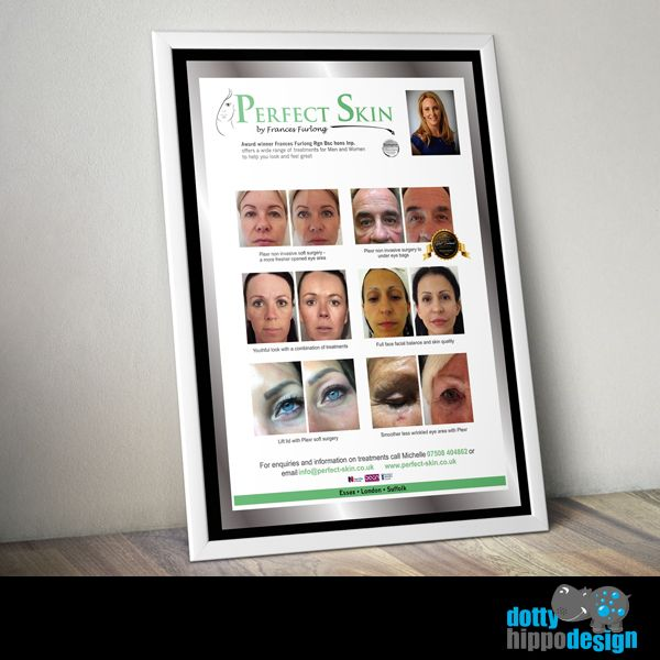 Poster design for Perfect Skin