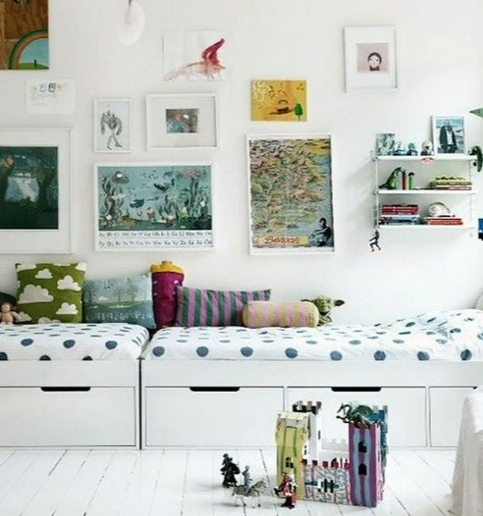 25 Incredible Shared Kids Rooms