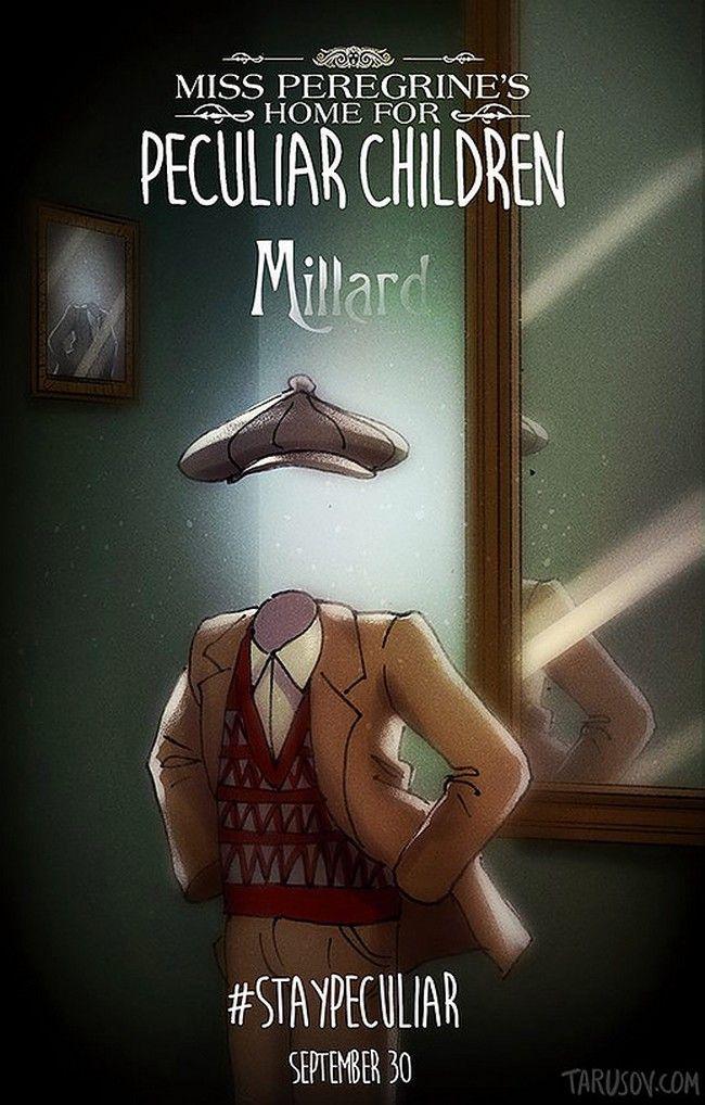 Miss Peregrine de Tim Burton par Andrew Tarusov : Millard