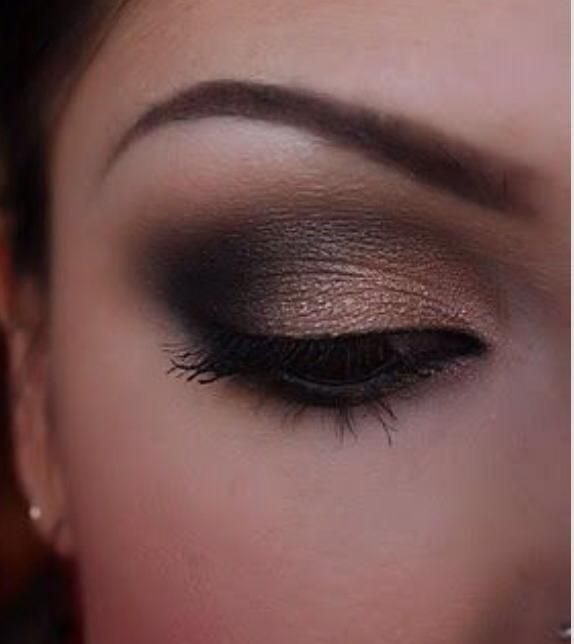 A big thank you to Sophia for sending us her gorgeous eye makeover using Swiss Chocolate, Antique Copper and Ivory Lace. Beautiful!
