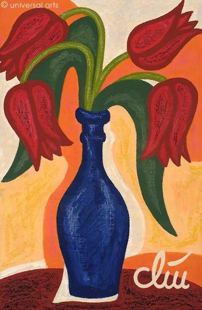 "Jacqueline Ditt - ""Red Tulips"" | myartmap"