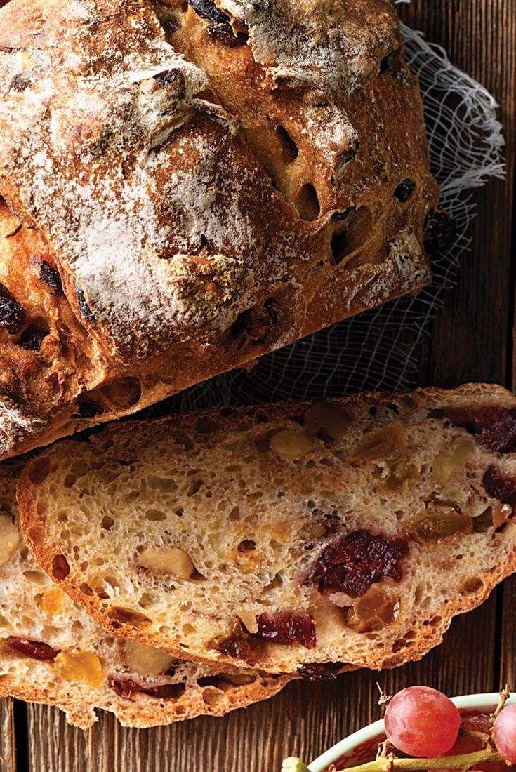 No Knead Harvest Bread Recipe In 2019 Food Bread