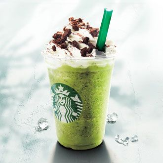 Chocolate Brownie Matcha Green Tea Frappuccino - 10 Starbucks Drink Flavors You Can Only Get Abroad