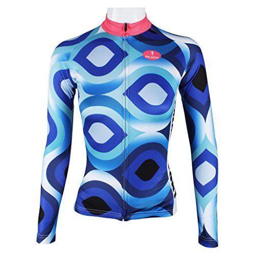 Paladin Women's Long Sleeve Special Cycling Jersey WJ01 - http://ridingjerseys.com/paladin-womens-long-sleeve-special-cycling-jersey-wj01/