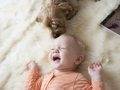 puppies and babies, oh my heart.