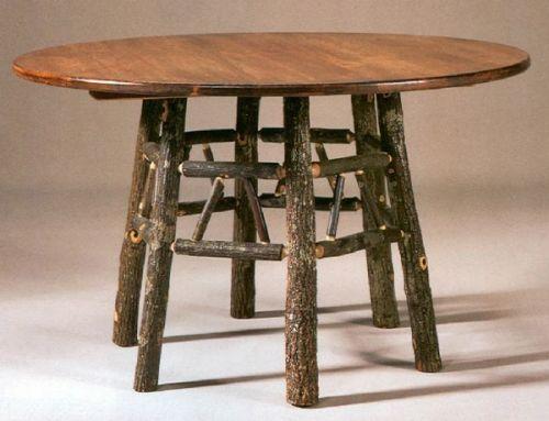 61 besten bildern zu hickory log furniture auf pinterest, Esstisch ideennn