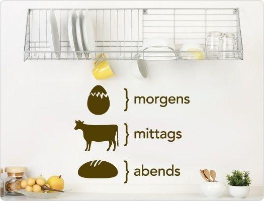 25 besten küche Bilder auf Pinterest Küchen ideen - wandtattoo küche guten appetit