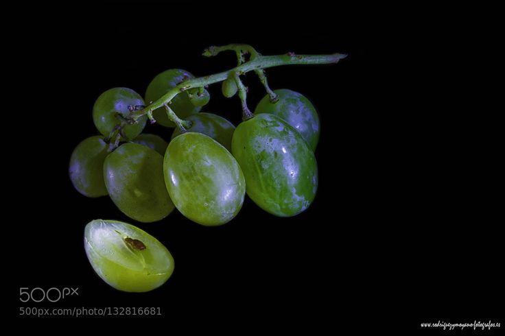Pic: racimo de uvas