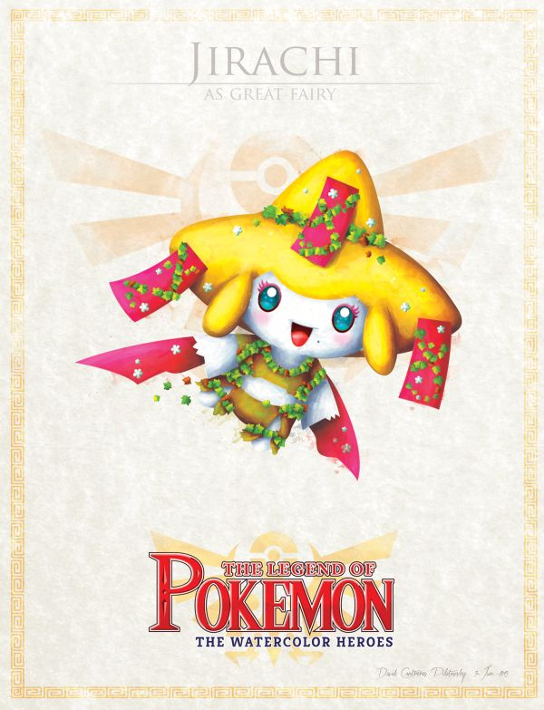 Explosão de forura: Pokémon encontra Zelda