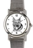 Best Price German Shepherd - Adult (SC) Dog - WATCHBUDDY® ELITE Chrome-Plated Metal Alloy Watch with Metal Mesh Strap-Size-Small (  Buy online and save - http://greatcompareshop.com/best-price-german-shepherd-adult-sc-dog-watchbuddy-elite-chrome-plated-metal-alloy-watch-with-metal-mesh-strap-size-small-buy-online-and-save