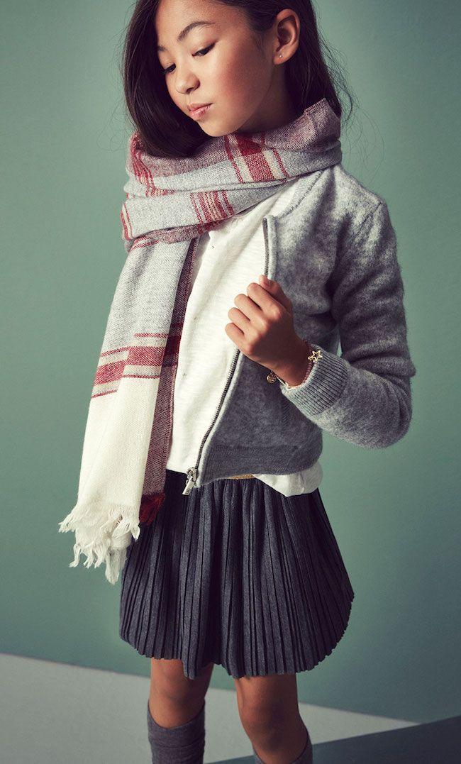 Massimo Dutti niños, moda invierno