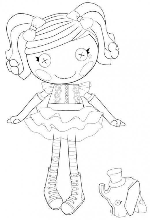 lalaloopsy coloring pages for kids - photo#47