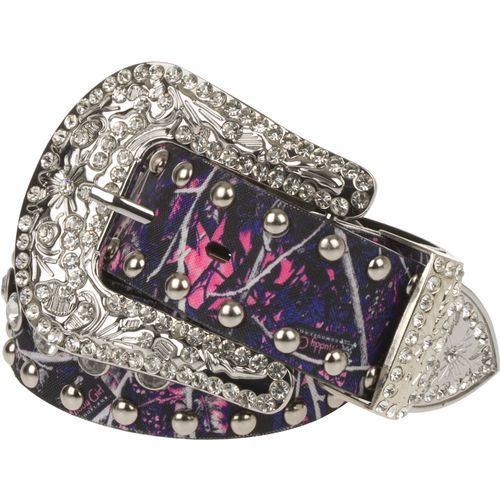 Monte Vista Women's Muddy Girl Bling Belt