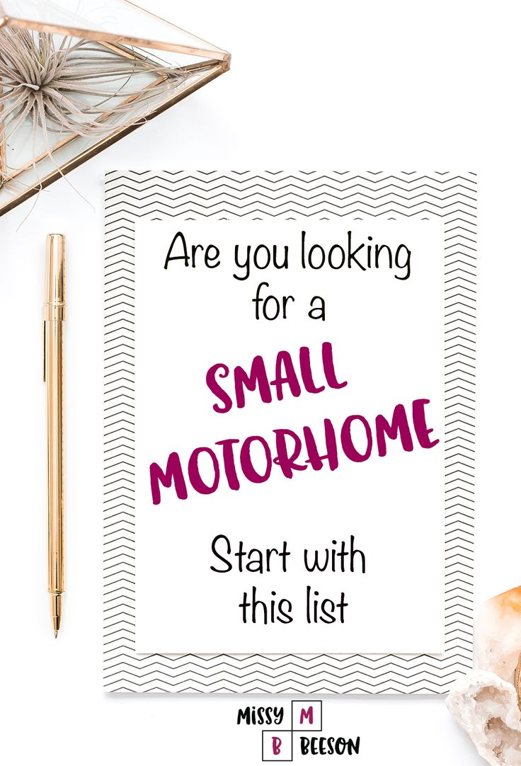 Class B motorhome manufacturers of small motorhomes. This list will help you start your search process.