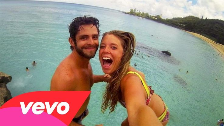 Obsessed with this song right now!!! Thomas Rhett - Vacation (Instant Grat Video)